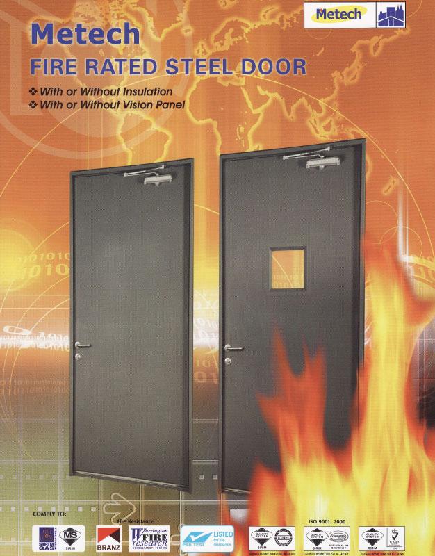 Fire Rated Steel Doors : Click here fire rated doors metech kenzai